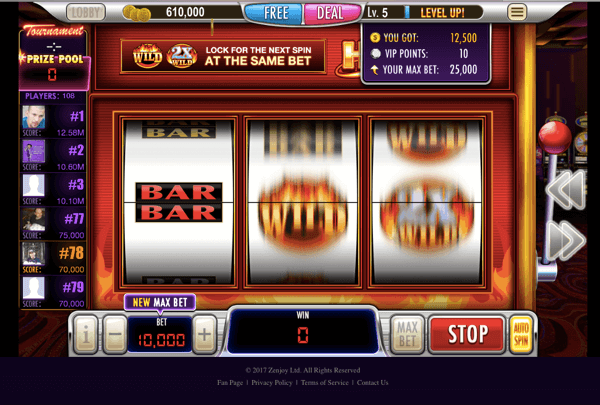 Vegas - Slots Fire FREE Casino