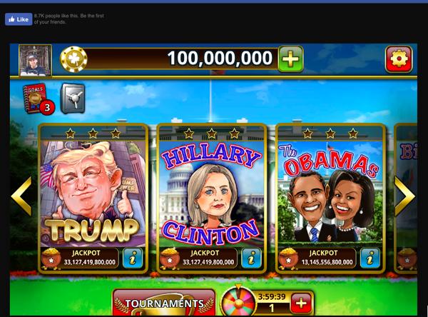 Slots: President Trump
