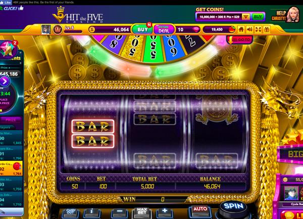 Hit the 5 Casino