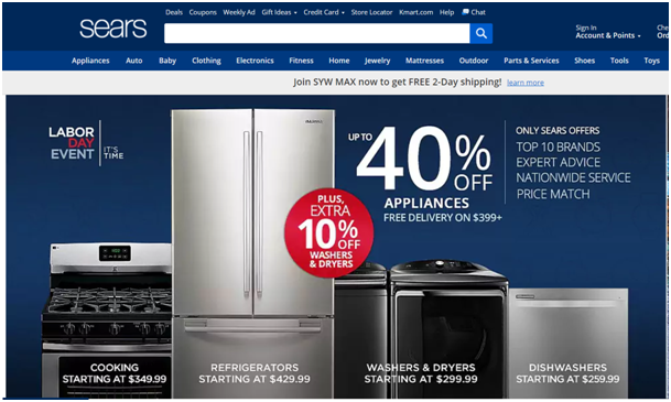 Labor day Deal at Sears