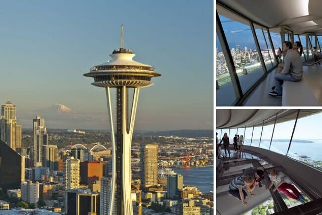 Skywalk on the Space Needle