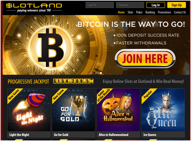 Slotland Bitcoin Casino