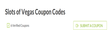 Slots Of Vegas Coupon Codes
