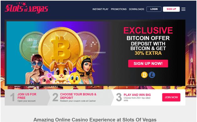 Slots of Vegas Bitcoin Casino