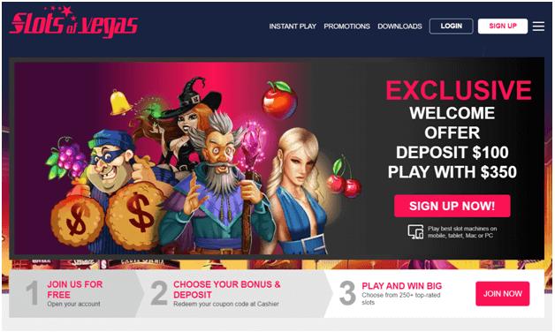 Slots of Vegas - Inclave casino