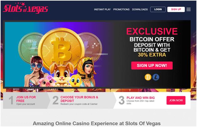 Slots of Vegas Litecoin Casino