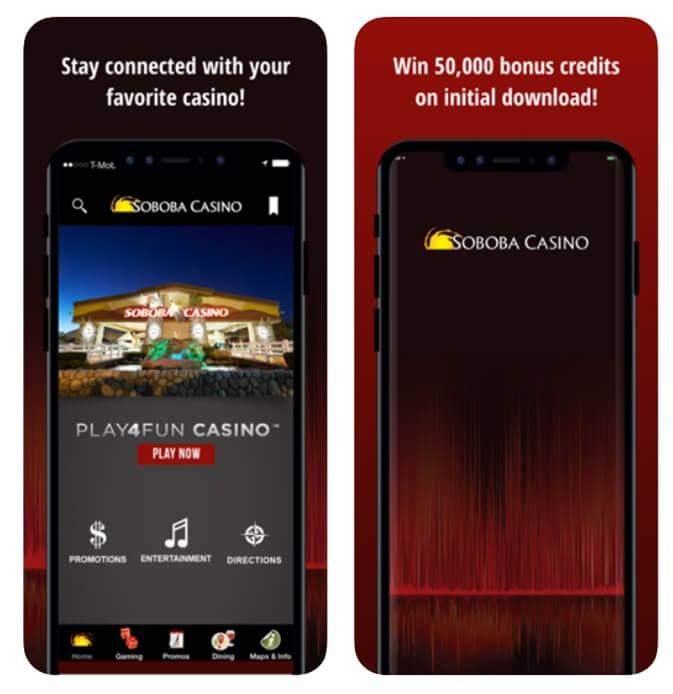 Soboba casino app