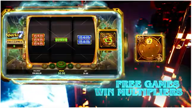 Sparky 7 slot free games