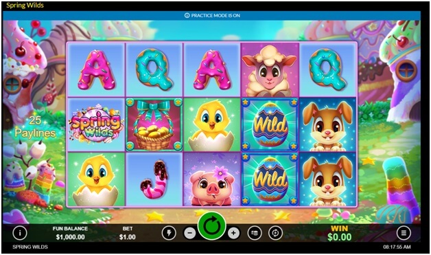 Spring WIlds- The new slot game symbols