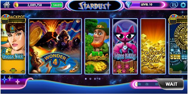 Stardust Casino Games Lobby