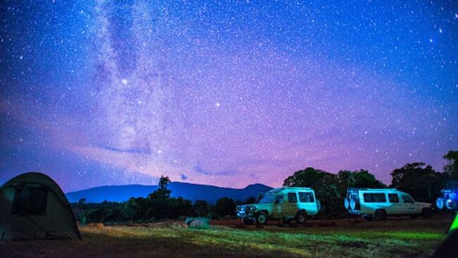 Stargaze in Tanzania