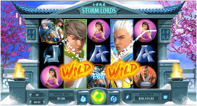 Storm Lords RTG Slot