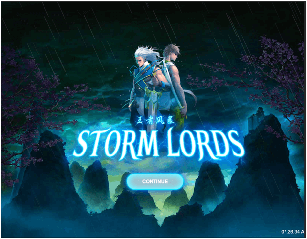 How to play Storm Lords new slot game