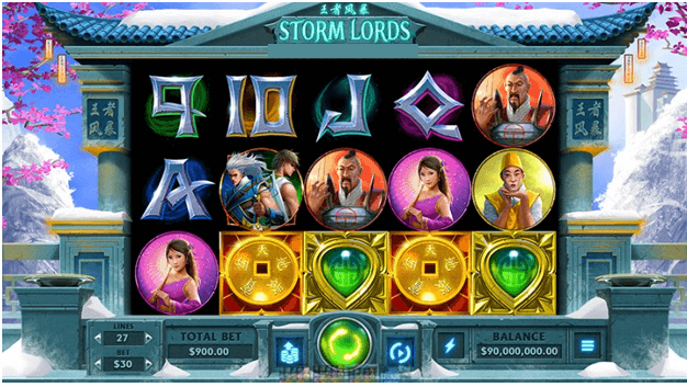 Storm Lords New Slot Game