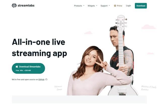 Stream Labs to streamlive