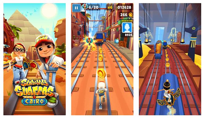 Subway surfers game app