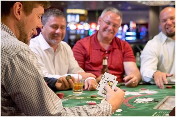 Table games at Montana