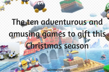 The ten adventurous and amusing games to gift this Christmas season