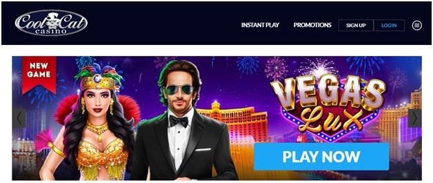 Vegas Lux- Cool Cat Casino codes