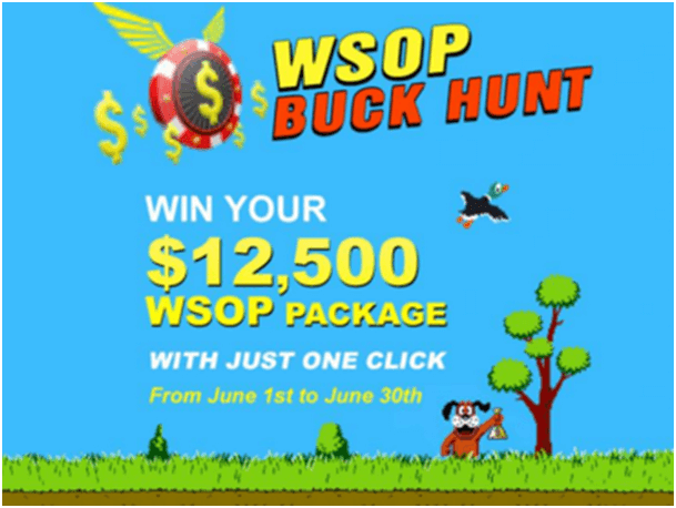 WSOP Buck Hunt