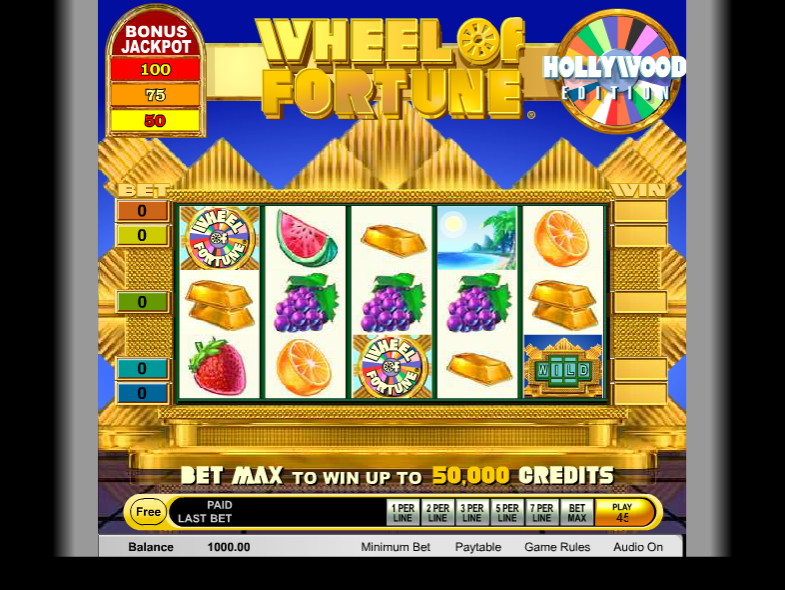 Free Wheel Of Fortune Slot Games