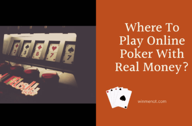 Where To Play Online Poker With Real Money