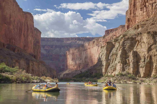 Whitewater Raft the Colorado River