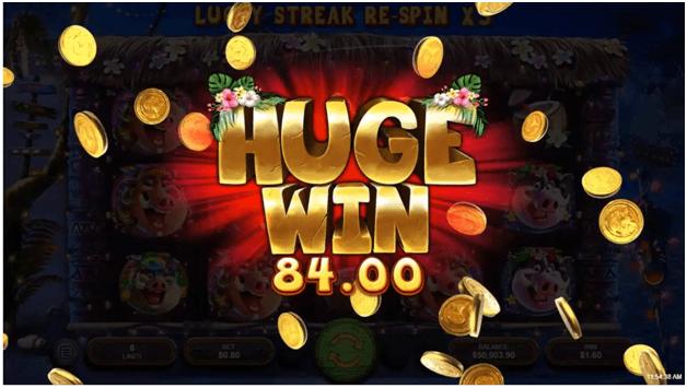 Wild hog wins