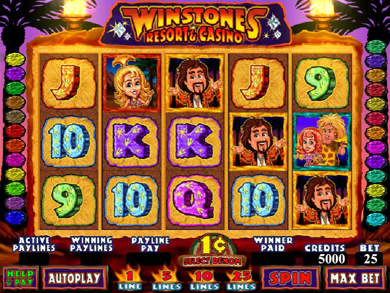 Winstones Resort and Casino - SLOT GAME