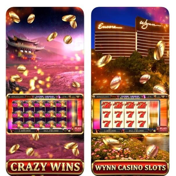 Wynn slots app features
