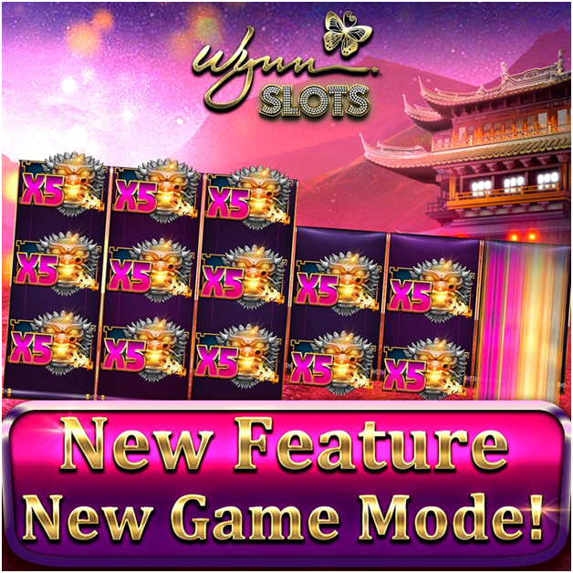 Wynn slots new features