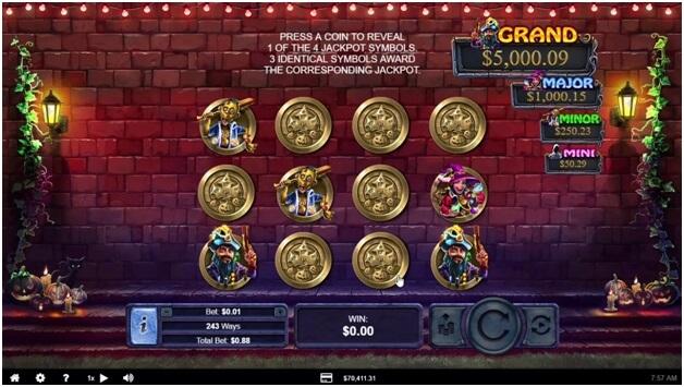 Halloween Treasure Jackpot