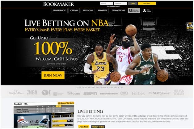 Bookmaker bookie