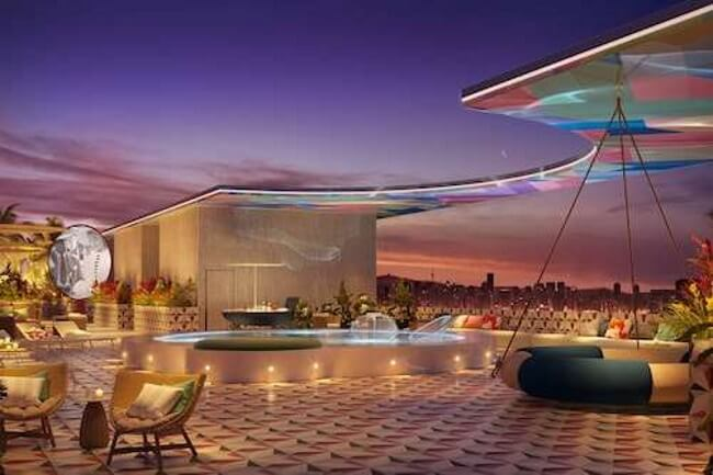 Chain of Hotels with spa and malls miami