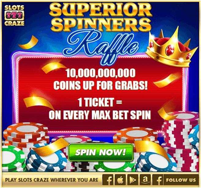 slots craze social casino app