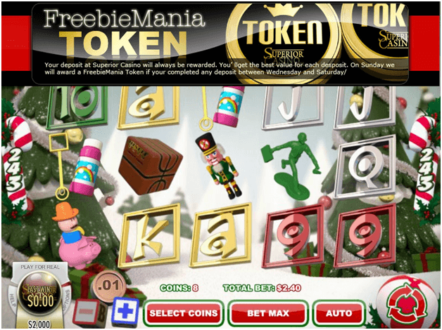 Superior Casino Free Tokens