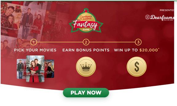 Hallmark Christmas game to win $20000