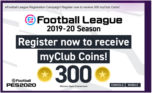 how to get free coins in efootball PES2020
