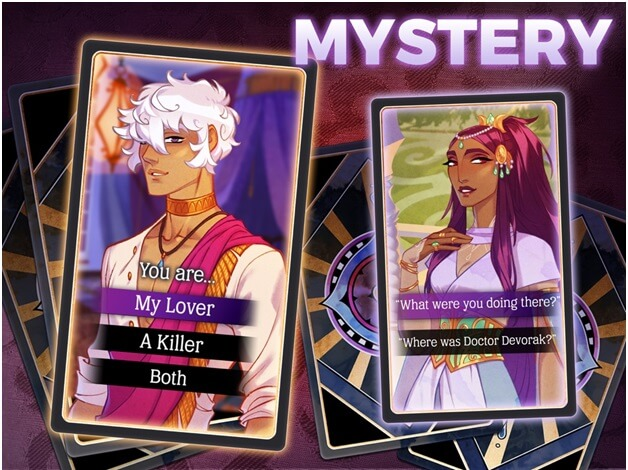 how to get started in the game Arcana mystic romance