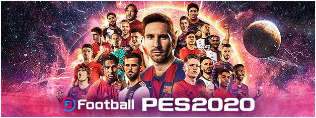 how to get strated with efootball PES2020
