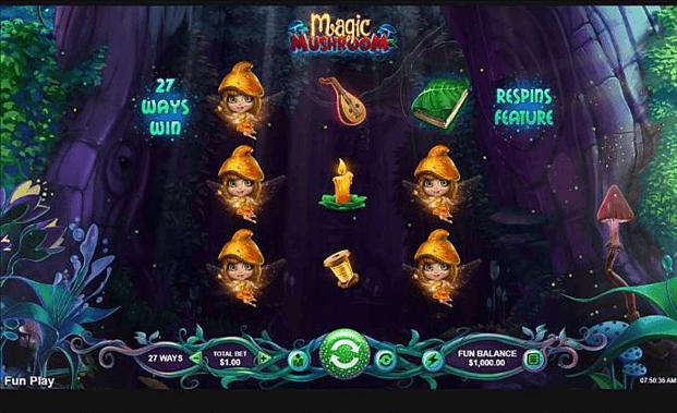 magic mushroom symbols