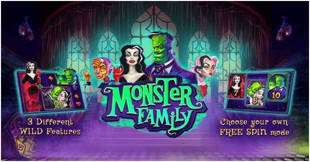 monster family slot