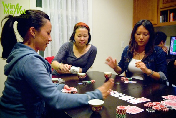 Perfecting the bluffing act in the game