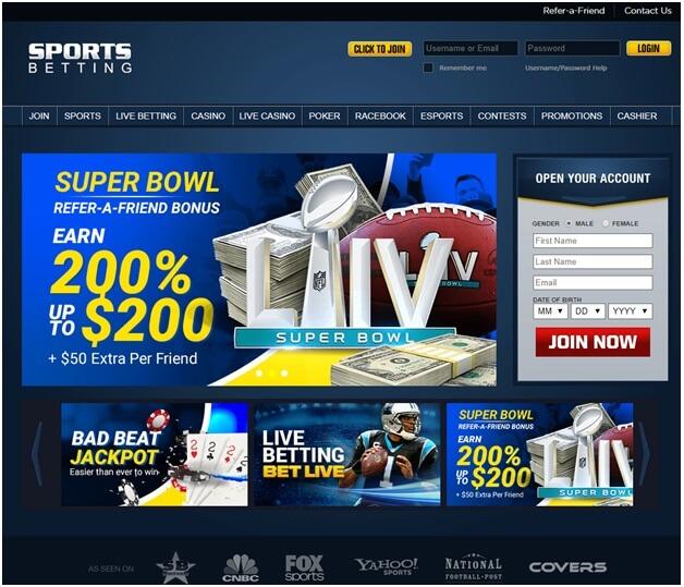 sportsbetting online bookie
